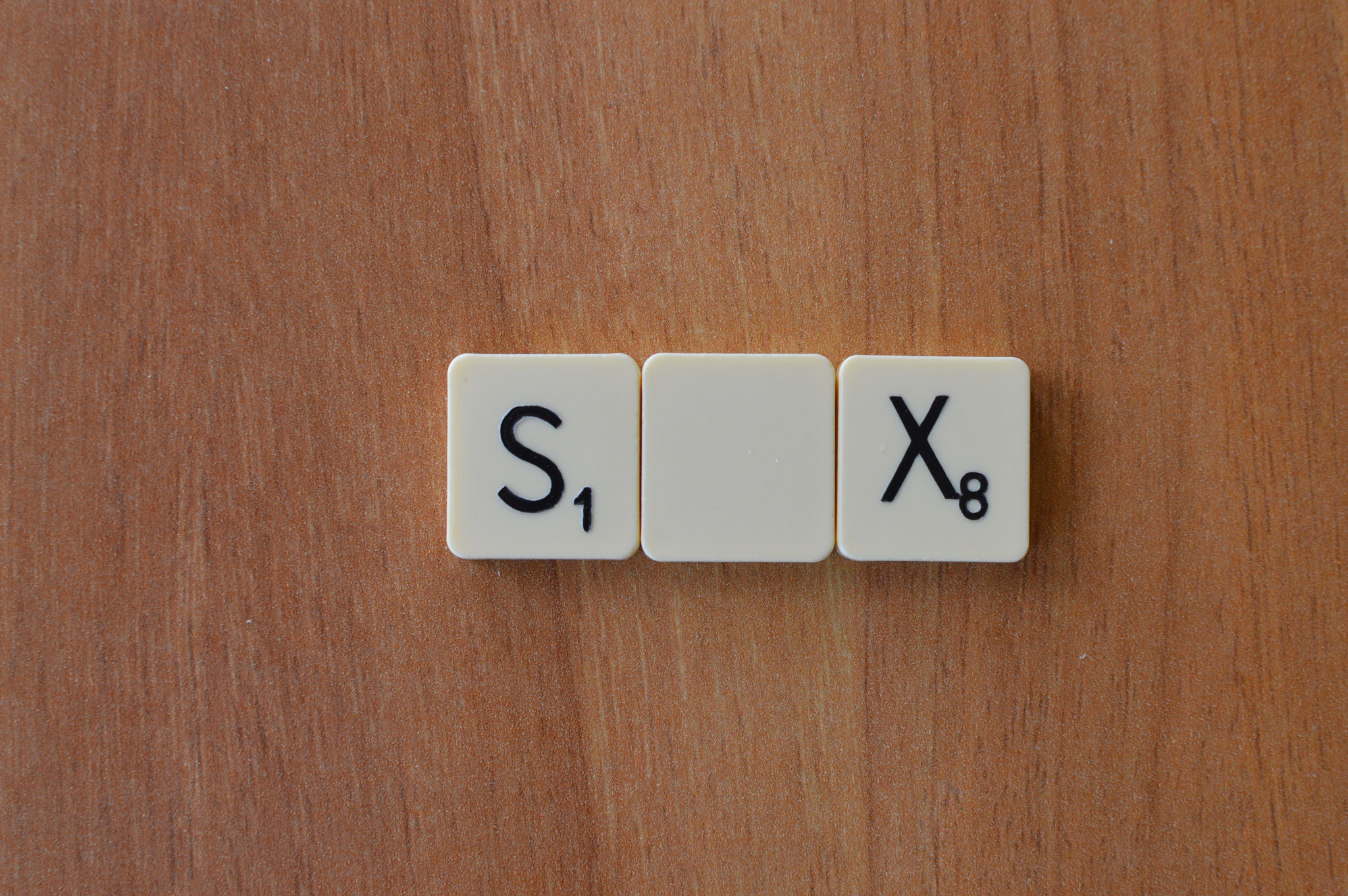Sex or Six Scrabble