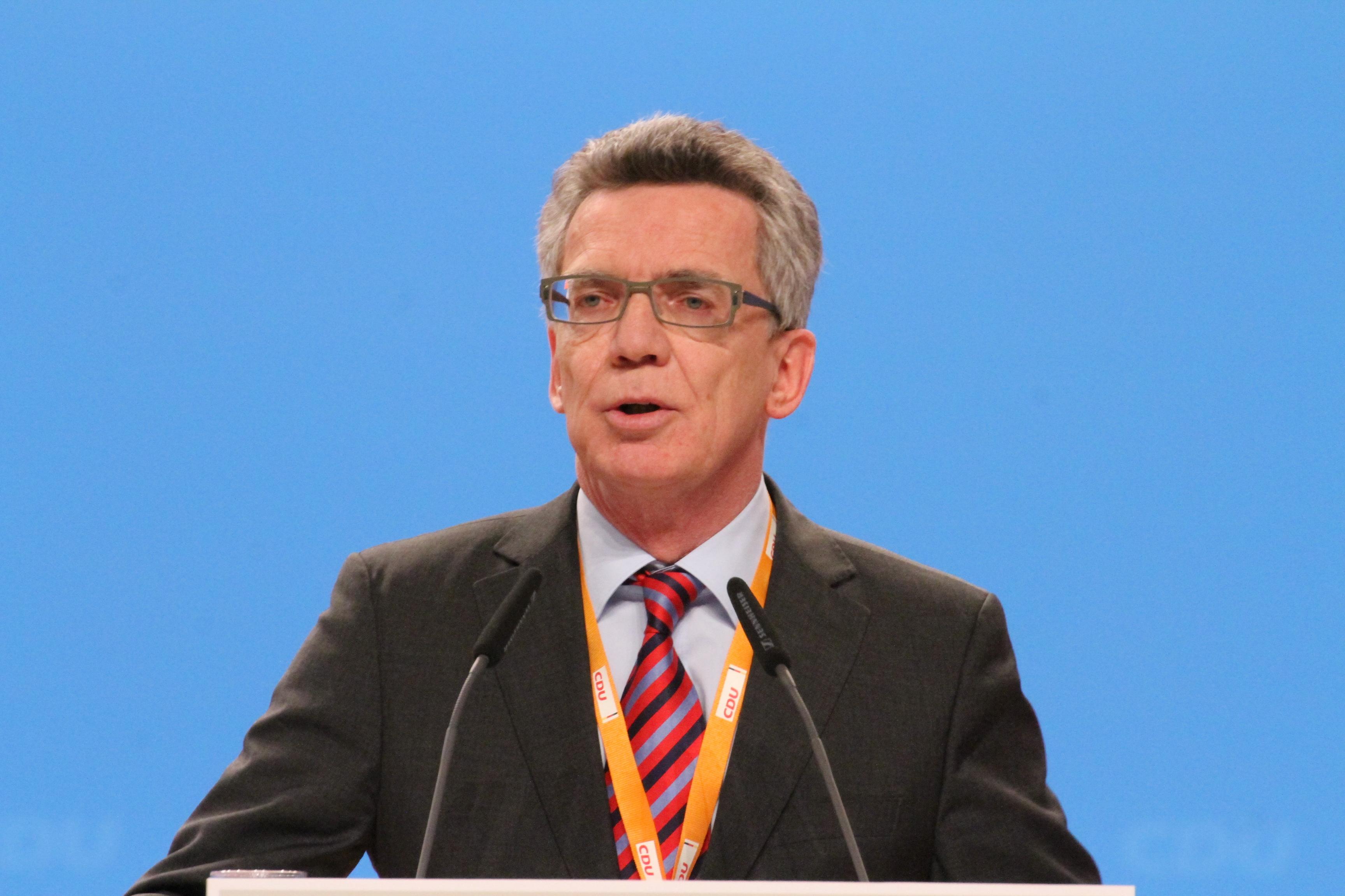 Thomas de Maizière Bildquelle: Olaf Kosinsky / Wikipedia